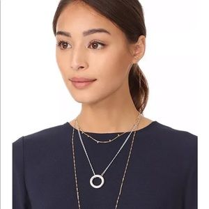 Madewell silver necklace only